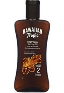 HAWAIIAN TROPIC óleo bronzeador - 200ml Intense